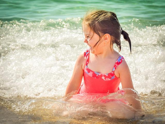 niños salud verano